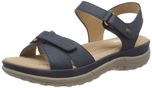 Rieker Damen Frühjahr/Sommer V8853 Geschlossene Sandalen, Blau (Ozean 14), 41 EU