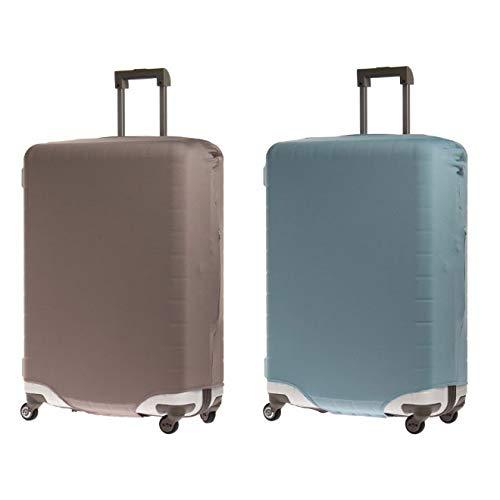 &P スーツケース/キャリーケースカバー NV1874(サイズはありません イ:グレー(ムジ))