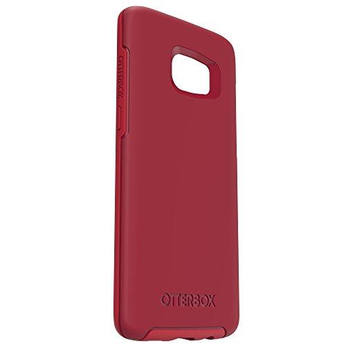 OtterBox Symmetry sturzsichere Schutzhülle für Samsung Galaxy S7 Edge Rosso Corsa, rot