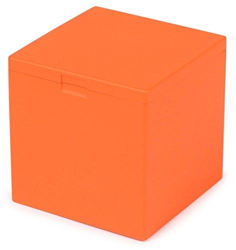 WINDMILL(ウインドミル) 灰皿 ハニカムキューブ 卓上 34本収納 オレンジ 601-0006