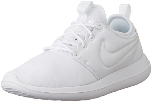 Nike Damen WMNS Roshe Two Trainer, Elfenbein White/Pure Platinum, 37.5 EU