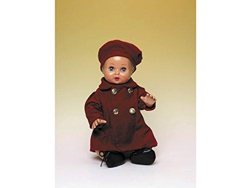 Lieveheersbeestje Pérez – juanín baby set mantel en baret, bordeaux (jb05065)