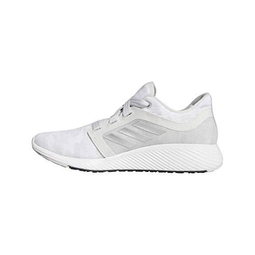 adidas Edge Lux 3 Shoes, Zapatillas para Correr para Mujer, Gris Plata Metálico Blanco, 40 2/3 EU