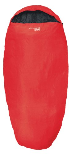 Yellowstone Water Repellent Sleepwell 300 Unisex Outdoor Sleeping Bag available in Red - One Size