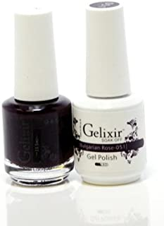 Gelixir matching color & nail lacquer Bulgarian Rose -051