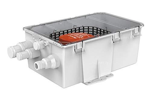 lighteu®, Seaflo 47 LPM-Duschsumpfsystem 12V 750GPH Automatische Bilgenwasserpumpe