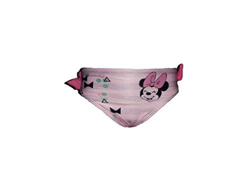 Disney Costume Neonata Slip Lycra Minnie Topolina Art. 21483 (12 Mesi, Rosa)