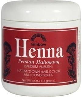 Henna (Persian) - Medium Auburn, Mahogany, 4 oz ( Multi-Pack)