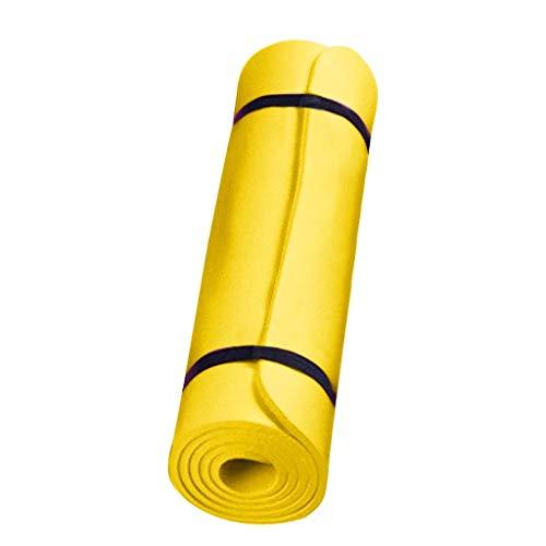 CUPPP Esterilla Yoga Antideslizante Fitness Esterilla Deporte Gruesa, Profesional Estera de Yoga Grande Pilates Mat Baratas Colchoneta Gimnasia con Material Ecológico con líneas corporales