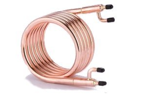 Standard Counterflow Wort Chiller All Ports 1/2 in. Male NPT Fittings