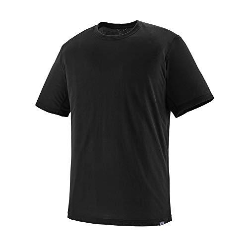 Patagonia M's Cap Cool Trail T-Shirt für Herren S Schwarz