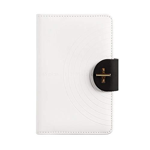 Cuadernos de Diario en Blanco de Papel Rayado Plan Cuaderno de Negocios Calendario de Negocios Este Plan Manual de eficiencia Cuaderno de administración Cuaderno de Oficina Paquete de Trabajo Escolar