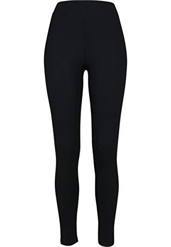Urban Classics Ladies Jersey Leggings, Nero (Black), L Donna