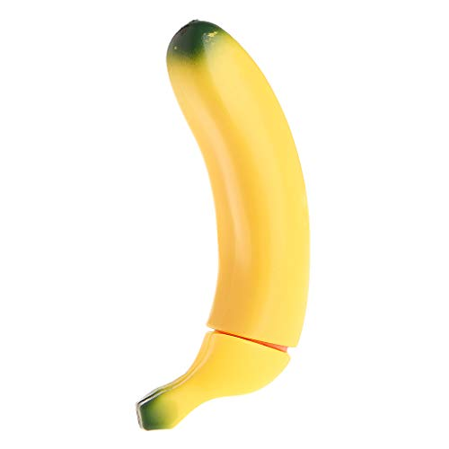 Meimei367 6.69' Banana Shape Realistic Adults Toys for Women - Banana Toys Party Gifts