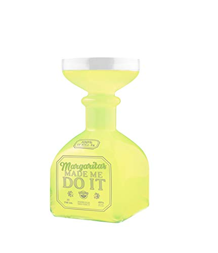 BigMouth Margarita Bottle Glass – Hilarious Glass Holds up to 32 Oz – Glass Shaped Like A...