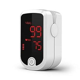 AccuMed FS10E Pulse Oximeter Monitor (White)