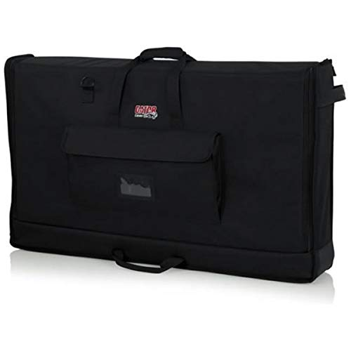 "Gator Cases Padded Nylon Carry Tote Bag for Transporting LCD Screens, Monitors and TVs Between 40""- 45""; (G-LCD-TOTE-LG)"