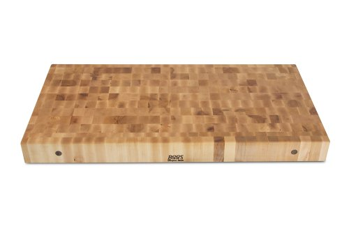 John Boos Block CCB4824 Classic Collection Maple Wood End Grain Chopping Block, 48 Inches x 24 Inches x 4 Inches