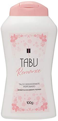 Talco Perfumado 100G Romance Unit, Tabu