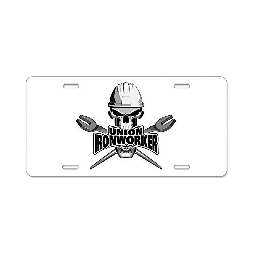 12 X 6 Customize License Plate Cover Aluminum Front Auto Car Tag Sign Metal 4 Holes