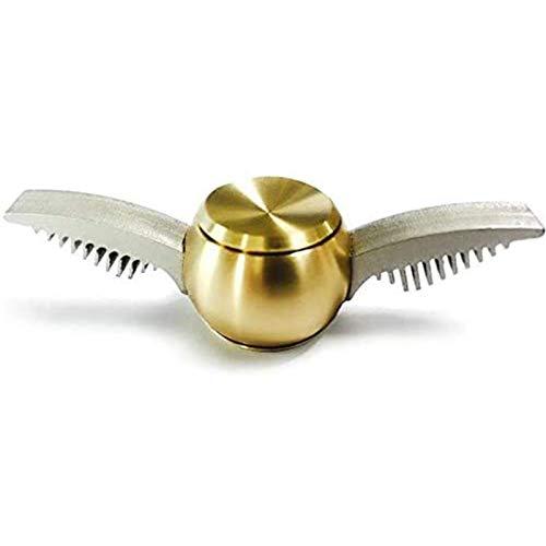 WBF Spinning Toy Top Golden Ball Hand Spinners Fidget Juguete Tres Opciones Tensión del Teléfono De Ansiedad A