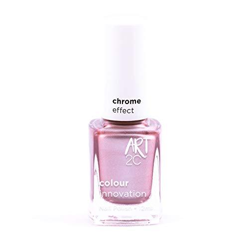 Art 2C Rise & Shine - Nagellack mit Chrom-Effekt - 6 Farben, 12 ml, Farbe: CH04