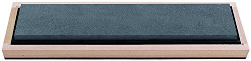 RH PREYDA Erwachsene Hard Black Arkansas Bench Stone, Körnung 2000-3000, Stein 250x50x19 mm, Holzschatulle Schärfprodukte, Mehrfarbig, One Size