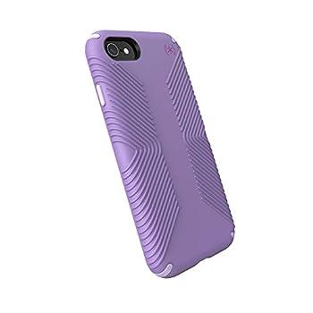 Speck Products Presidio2 Grip Case Compatible with iPhone SE  2020 /iPhone 8/iPhone 7 Marabou Purple/Concord Purple/Plum Purple