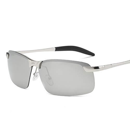 PKYGXZ Gafas de Sol Hombre Nueva película de Color Gafas de Sol...
