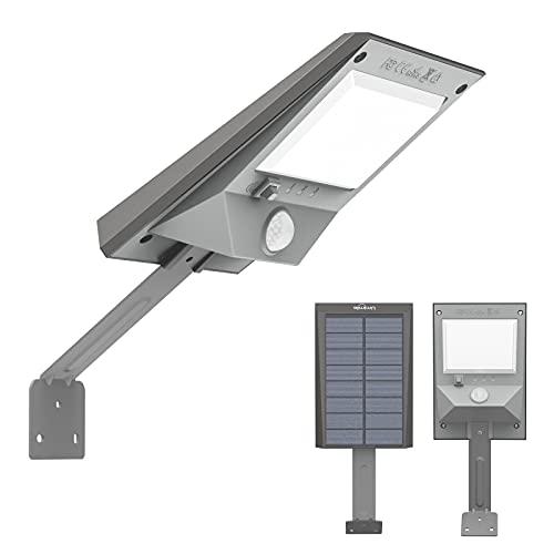 Umimile ソーラーライト センサーライト 屋外 人感センサーライト IP44防水 3つ知能モード 防犯ライト 夜間自動点灯 倉庫 玄関 車庫 (1個)