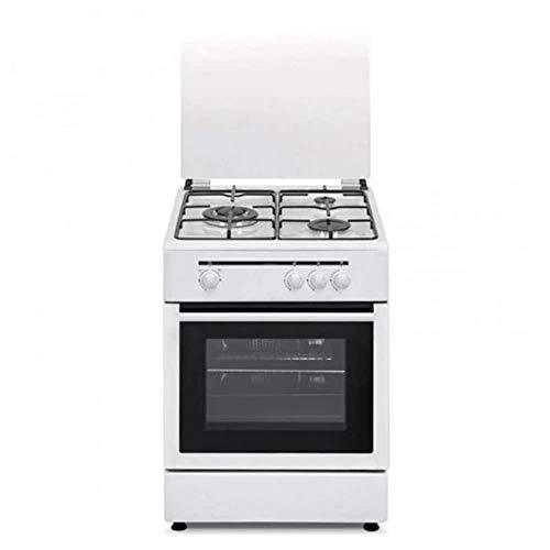Vitrokitchen S0408324 Cocina de Gas 1800W 50 x 55 x 85 Blanco
