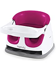 Ingenuity Babybas 2-i-1 säte – rosa – booster matningsstol