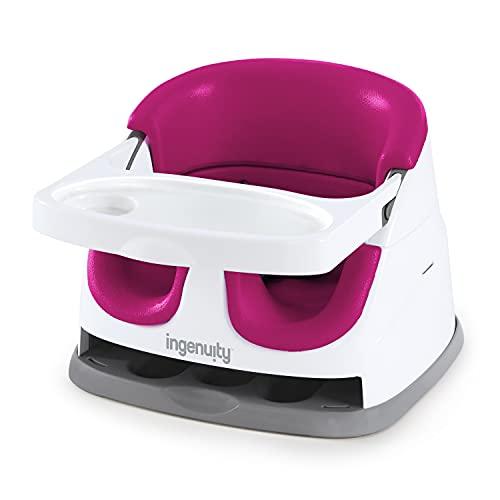 Ingenuity, Asiento Elevador 2 en 1, color rosa