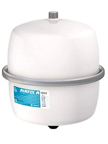 Flamco 24349 Airfix A - Vaso de Expansión para Instalaciones de Agua Potable, color blanco, 12 litros, 4 bares