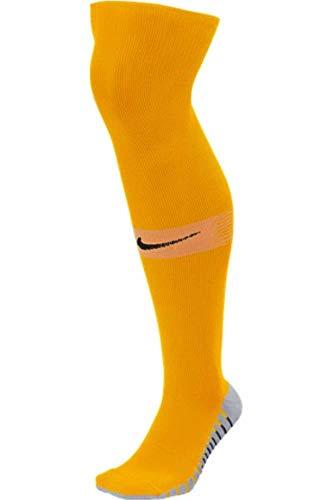 Nike Matchfit Sock OTC Stutzen, University Gold/Sundial/Black, S