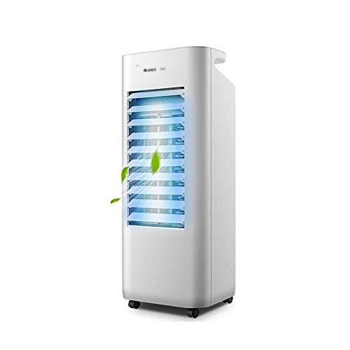 Qiutianchen Condizionatore Frigorifero Domestico Piccolo climatizzatore Ventola Fredda Disattivazione dell'audio Singolo Mobile Mobile Acqua Fredda
