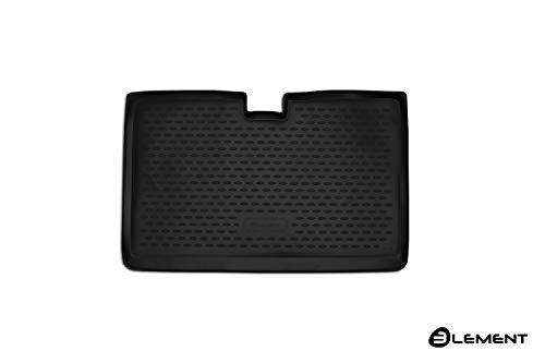 Element EXP.ELEMENT4148B13 Passgenaue Premium Antirutsch Laderaumwanne Kofferraumwanne Renault Captur I J5 2013-2019 Untere Boden, Schwarz, Passform
