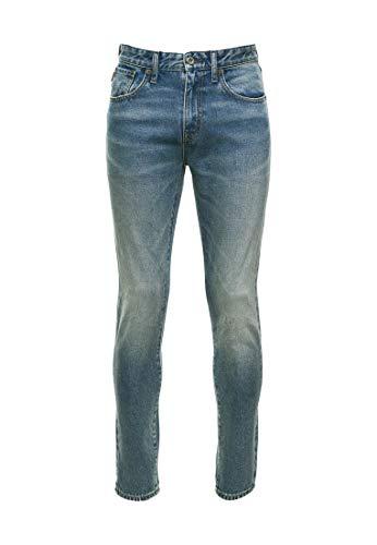 Superdry Taper Jeans, Angus Vintage Blue, 32/34 para Hombre