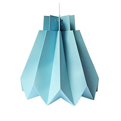 Lámpara colgante de papel origami - kit DIY