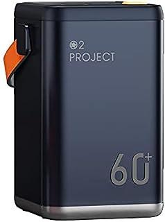 Power Bank 60000mAh Snabbavgift PD3.0 Fyra USB-portar Stor kapacitet Utomhus Mobil, Power Bank Portable 36W Energy Storage...