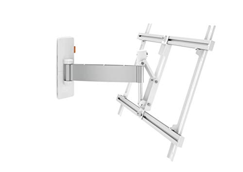 Vogel's W52081 - Soporte de Pared para Pantallas Planas (30 kg, 101,6 cm (40'), 165,1 cm (65'), 200 x 200 mm, 600 x 400 mm), Color Blanco