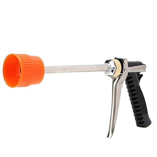 Pistola pulverizadora agrícola, pulverizador de pesticidas agrícolas de alta presión Dn10 G3/8 con accesorio de riego de varilla larga, para lavado de autos, riego de jardines, limpieza de aceras