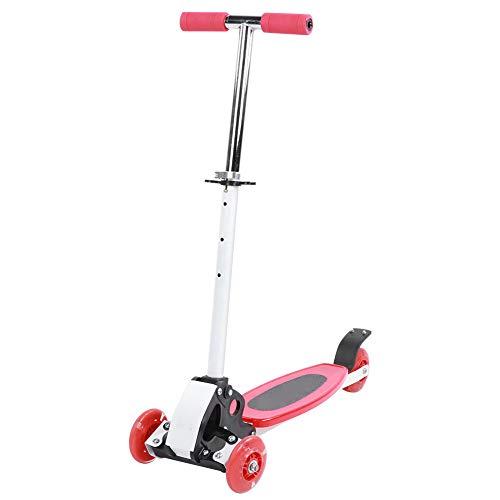 Kid Scooter, Coche de Juguete para niños, Rueda Trasera Doble diseñada, Plegable, ensanchada, Ruedas traseras Dobles, Velocidad múltiple para niños, Regalos para niños, Deportes al Aire