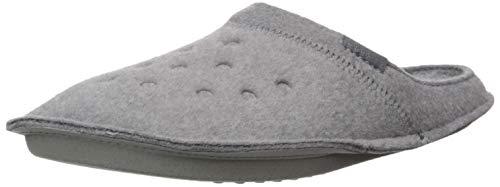 Crocs Classic Slipper, Zapatillas de Estar por casa Unisex Adulto, Gris Charcoal, 39/40 EU
