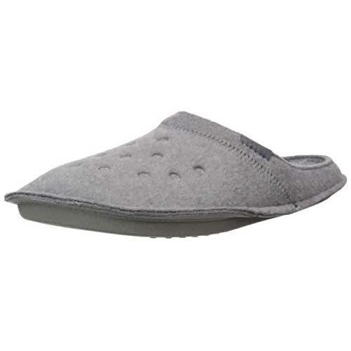 Crocs Classic Slipper, Pantofole Unisex-Adulto, Grigio (Charcoal/Charcoal 00q), 36/37 EU