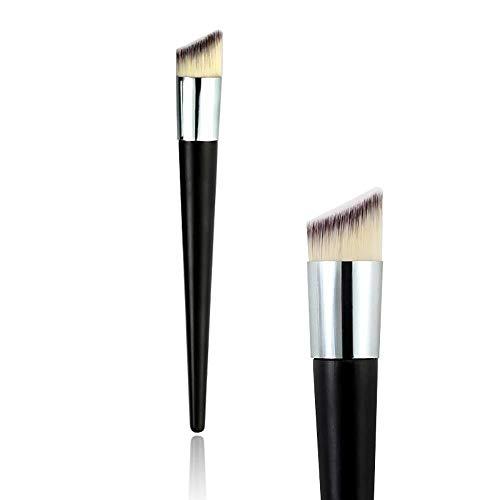 CHENC Make-up-Pinsel, abgeschrägter Kopf, Foundation-Pinsel, Puder, Concealer, flüssige Foundation, Gesichtsmake-up-Pinsel, Werkzeuge für professionelle Schönheitskosmetik