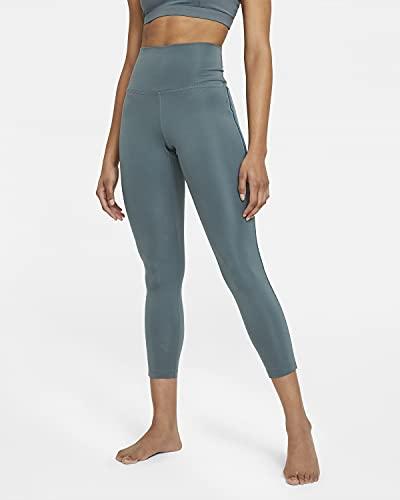 Nike W NY Novelty 7/8 - Mallas, HASTA/DARK TEAL GREEN/DARK, extra-large