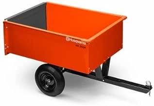 Husqvarna 9 CU FT Steel Dump Cart #588208803
