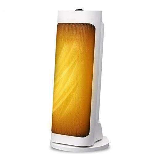 AGLOAT Calefactor de baño de bajo consumo, estufa eléctrica de bajo consumo, ventilador eléctrico, calefacción silenciosa, calefacción eléctrica, para baño, oficina, salón