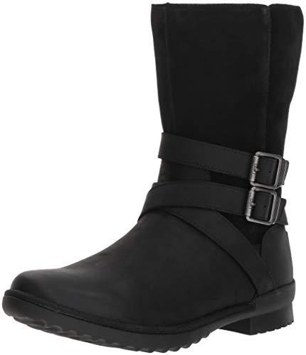 UGG Women's W Lorna Boot, Black, 8.5 M US